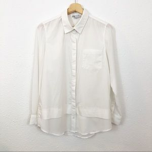 Katherine Barclay Montreal Womens White top blouse